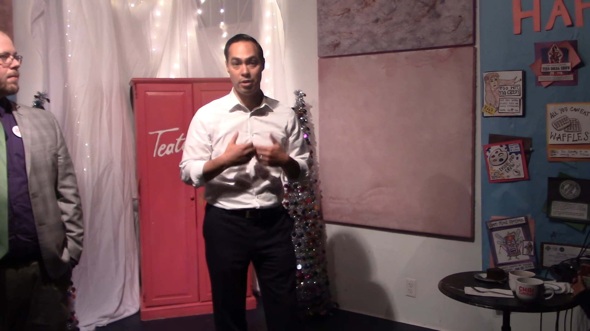 Click to watch: Julián Castro on immigrant rights and family detention