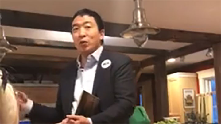 Click to watch: Andrew Yang speaks on privacy, big data and surveillance