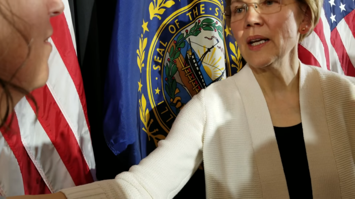 Click to watch: Elizabeth Warren on immigrant rights and family detention