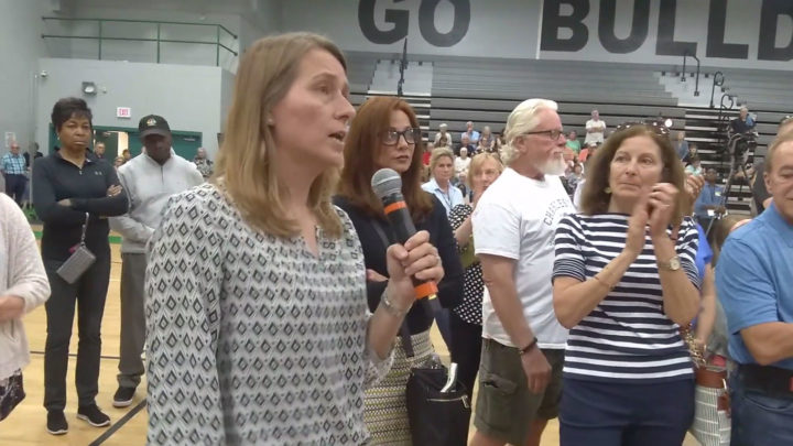 Click to watch: Beto O'Rourke gets reproductive freedom question from an ACLU voter in South Carolina