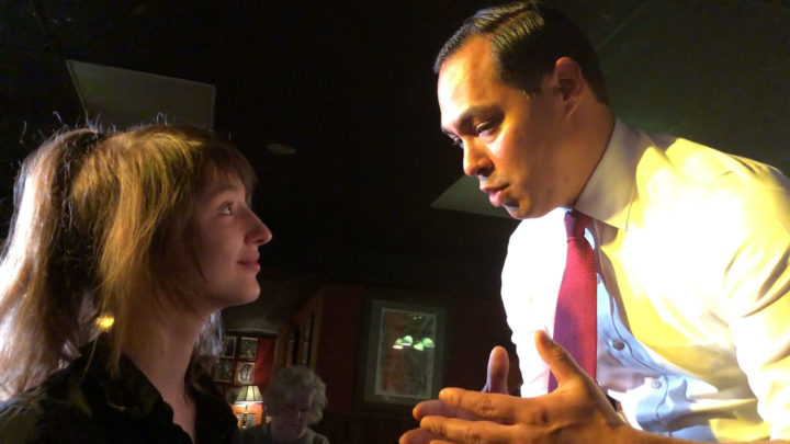 Click to watch: Julián Castro responds to a question on voting rights in Iowa City