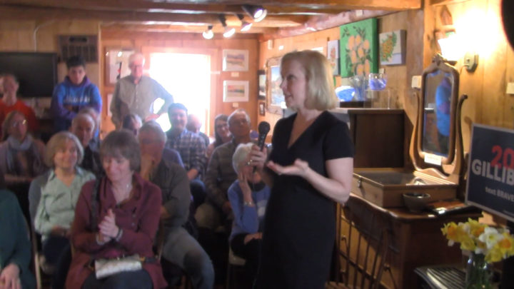 Click to watch: Kirsten Gillibrand asked about privacy in New Hampshire