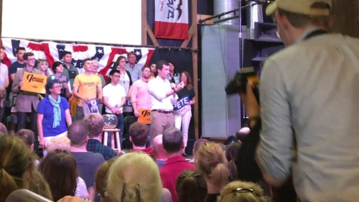 Click to watch: Pete Buttigieg on decreasing immigrant detention by 75% in Iowa City, IA