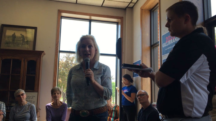Click to watch: In Charles City, IA, Kirsten Gillibrand asked if she would reduce detention of immigrants 75% or more by end of first term
