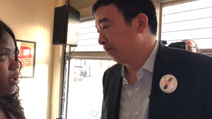Click to watch: Andrew Yang on reducing the prison population by 50% in Charleston, SC