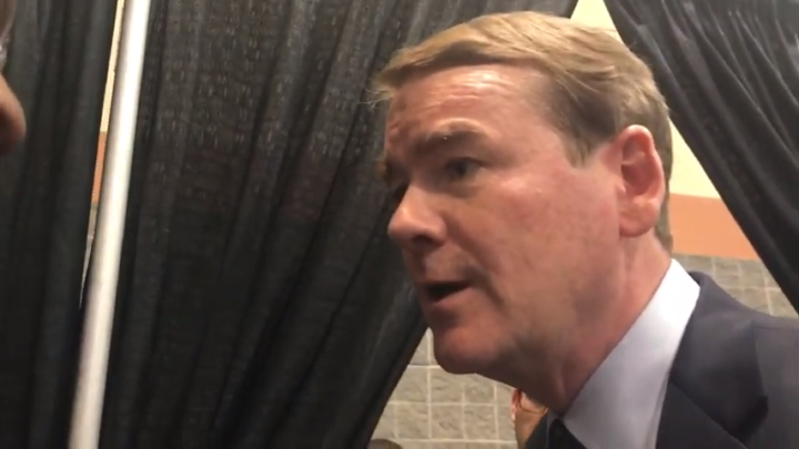 Click to watch: Michael Bennet on committing to reducing the federal prison population in Columbia, SC