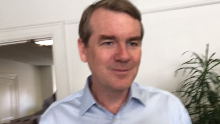 Click to watch: Michael Bennet on creating a path to citizenship in Iowa City, IA