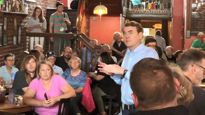 Click to watch: Michael Bennet on voting rights for incarcerated people in Council Bluffs, IA