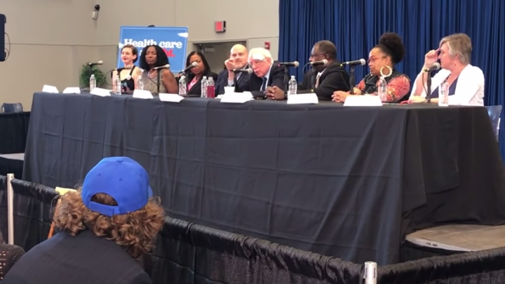 Click to watch: Bernie Sanders addresses reproductive freedom in Charleston, SC