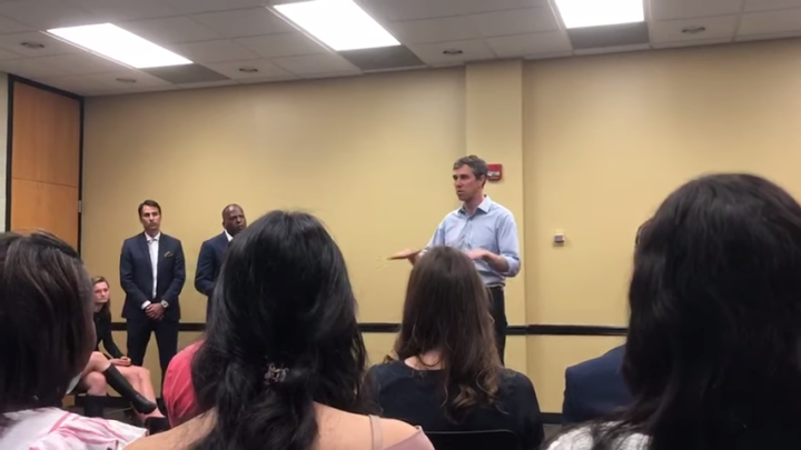 Click to watch: Beto O'Rourke on immigration, border enforcement, and pathways to citizenship in Columbia, SC