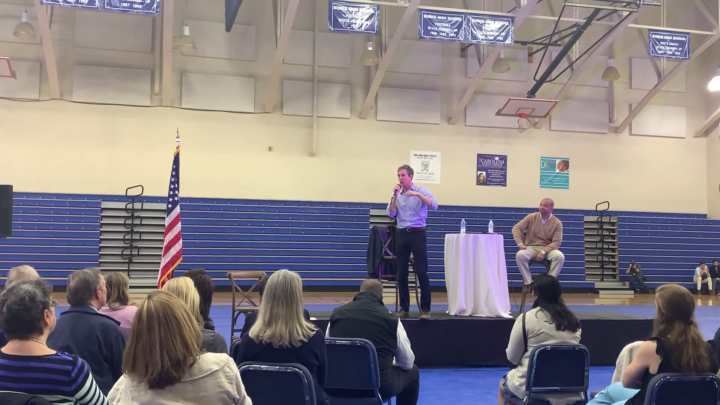 Click to watch: Beto O'Rourke addresses voting rights, voter suppression, and automatic voter registration in Charleston, SC