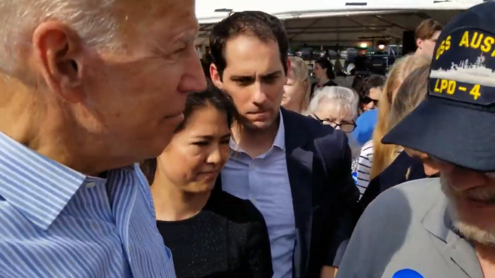 Click to watch: Joe Biden on establishing achievable paths to citizenship  in Londonderry, NH