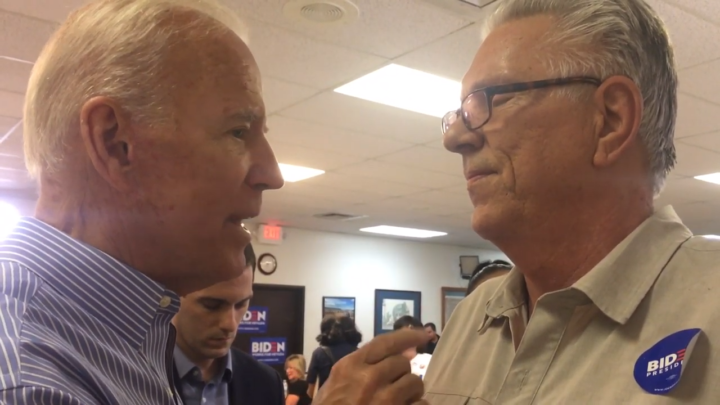 Click to watch: Joe Biden on ending ICE detainers in Las Vegas, NV