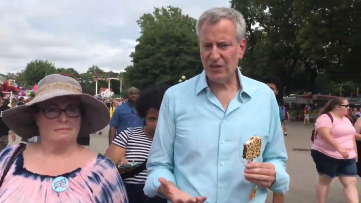Click to watch: Bill de Blasio on comprehensive immigration reform in Des Moines, IA