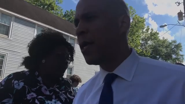 Click to watch: Cory Booker on committing to repealing the Hyde Amendment in Charleston, SC