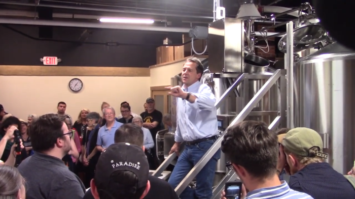 Click to watch: Steve Bullock on reversing mass incarceration in Concord, NH
