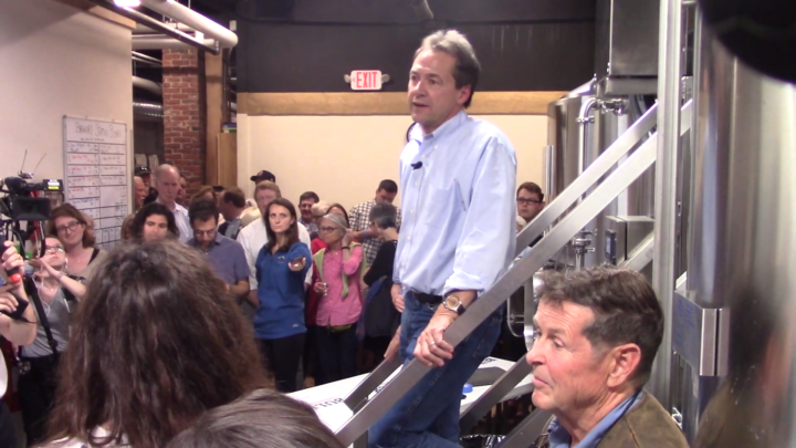 Click to watch: Steve Bullock on not granting voting rights for imprisoned citizens in Concord, NH