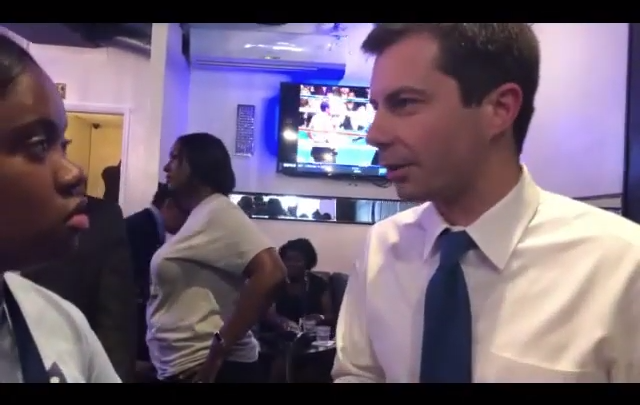 Click to watch: Pete Buttigieg on committing to creating a pathway to citizenship in Columbia, SC
