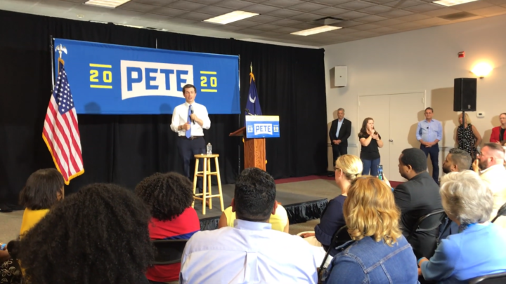 Click to watch: Pete Buttigieg on whether he supports voting rights for those currently incarcerated in Columbia, SC