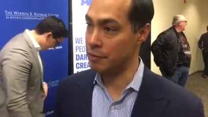 Click to watch: Julián Castro on reducing mass incarceration by 50% in Concord, NH