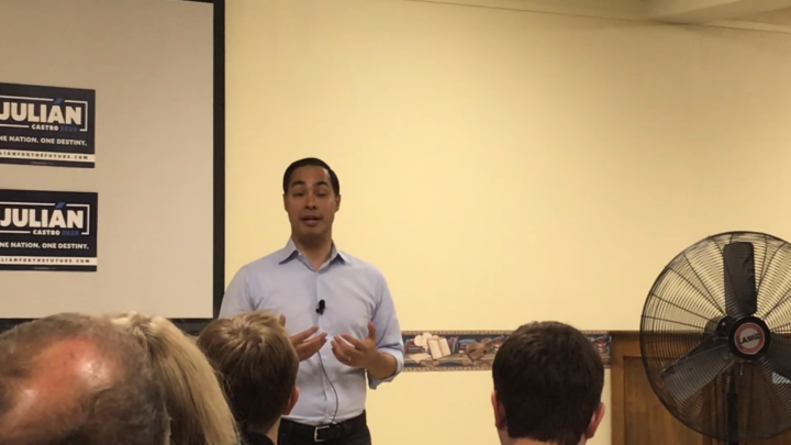 Click to watch: Julián Castro on ending the use of detention for immigration enforcement in Ames, IA