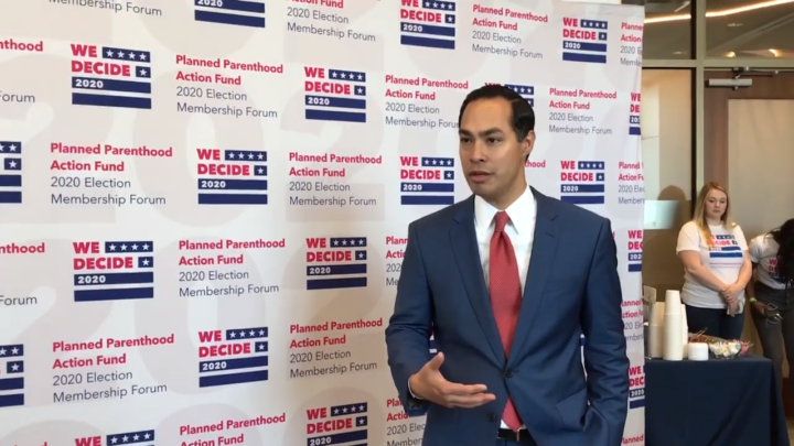 Click to watch: Julián Castro on allowing incarcerated Americans to vote in Columbia, SC