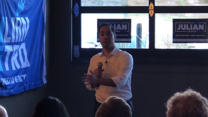 Click to watch: Julián Castro on voting rights for incarcerated citizens in Council Bluffs, IA