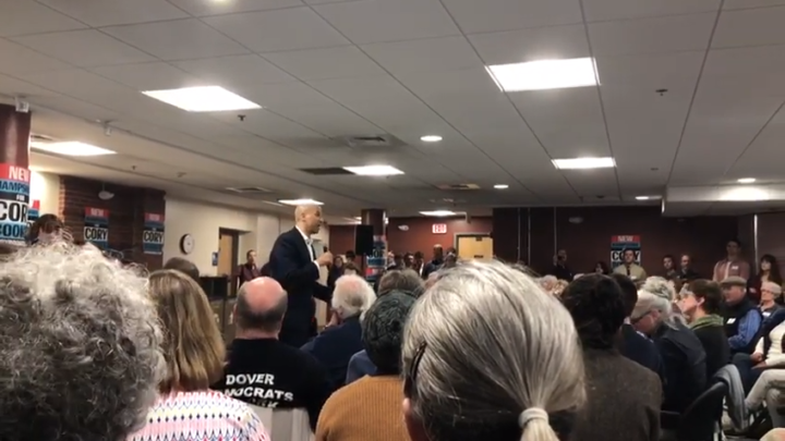 Click to watch: Cory Booker on expanding voting rights in Dover, NH