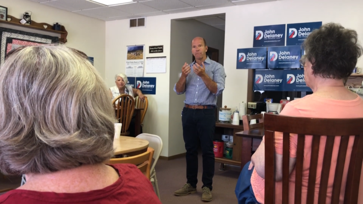 Click to watch: John Delaney on expanding access to reproductive health in Tabor, IA