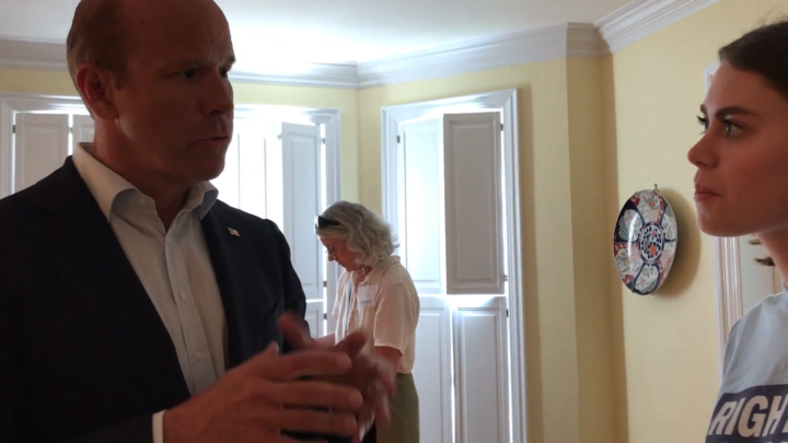 Click to watch: John Delaney on restoring voting rights for those currently incarcerated in Columbia, SC