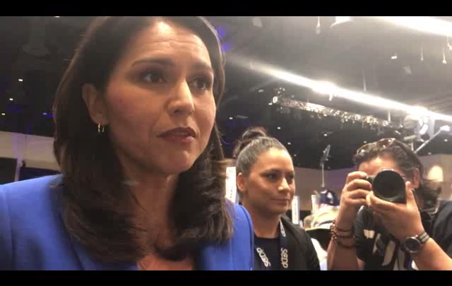 Click to watch: Tulsi Gabbard on reducing immigration detention in Columbia, SC