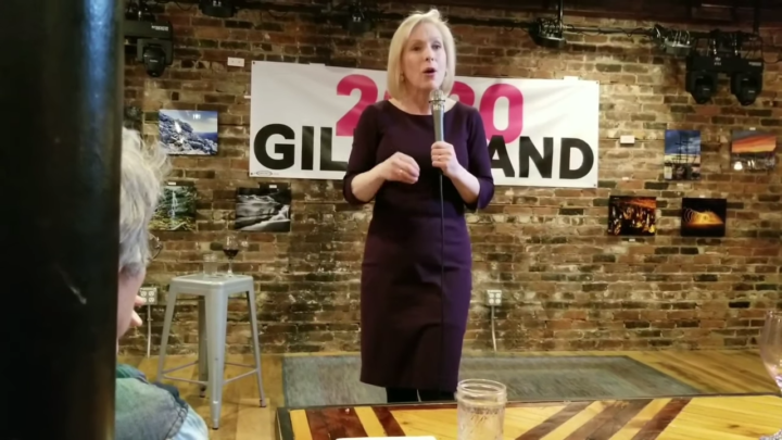 Click to watch: Kirsten Gillibrand on health care and reproductive freedom in Dover, NH