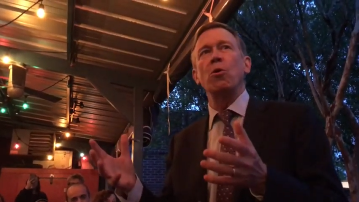 Click to watch: John Hickenlooper on reducing immigration detention in Columbia, SC