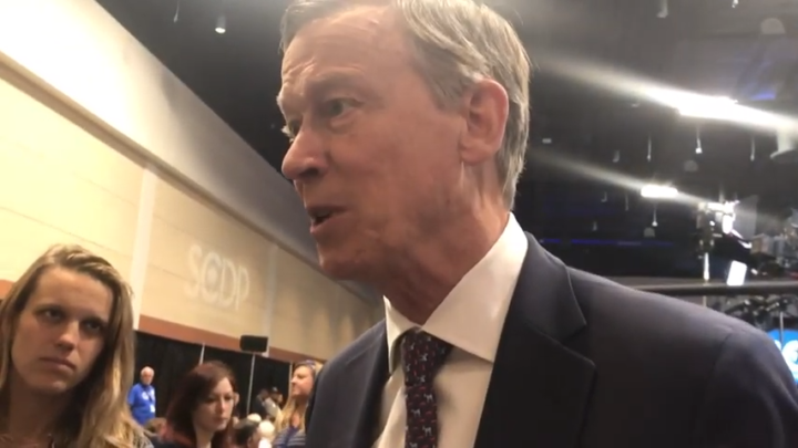 Click to watch: John Hickenlooper on ending the use of ICE detainers in Columbia, SC