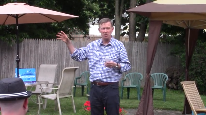 Click to watch: John Hickenlooper on reducing the population held in ICE detention center in Laconia, NH