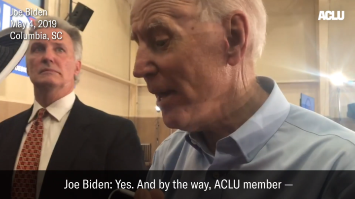 Click to watch: Joe Biden on whether he supports lifting the Hyde Amendment in Columbia, SC