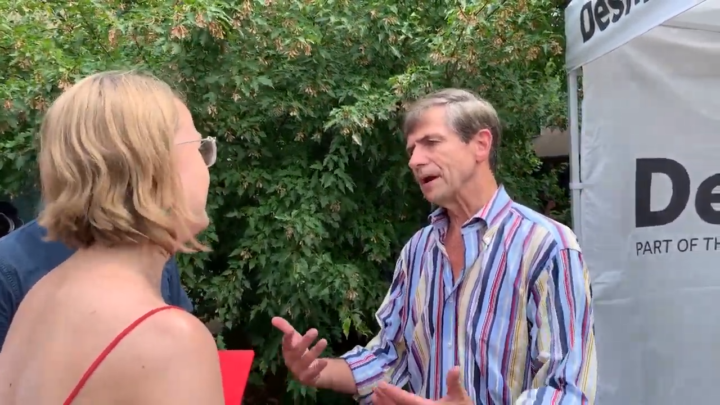 Click to watch: Joe Sestak on creating a path to citizenship in Des Moines, IA