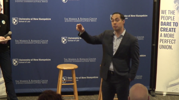 Click to watch: Julián Castro discusses accommodations for transgender inmates in Concord, NH