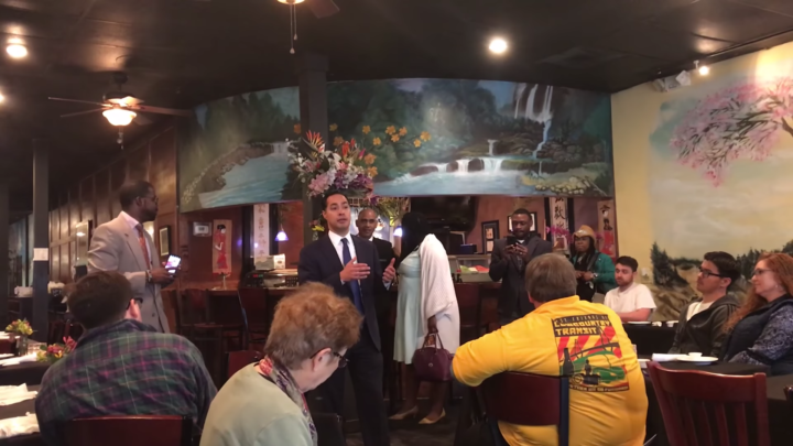 Click to watch: Julián Castro talks marijuana legalization and criminal justice reform in Charleston, SC