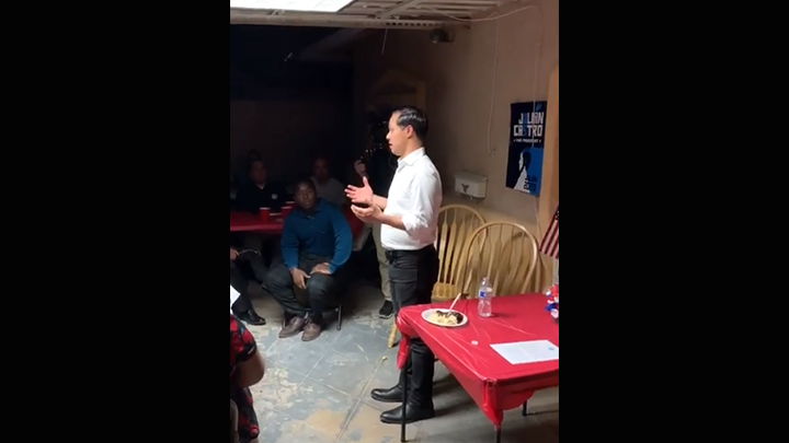 Click to watch: Julián Castro discusses immigration reform and ICE in Las Vegas, NV