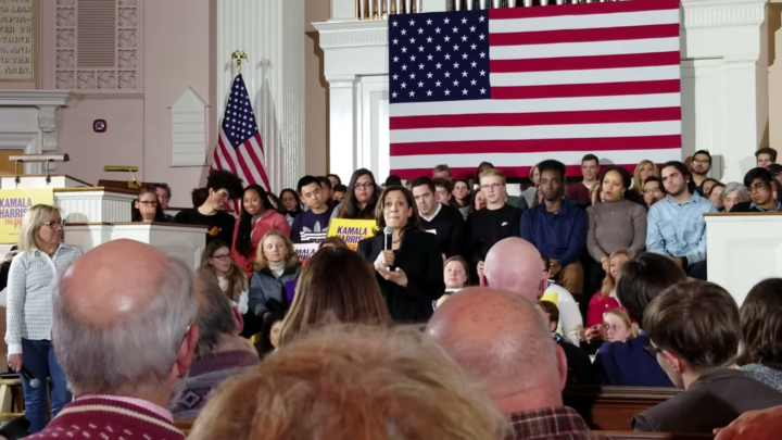 Click to watch: Kamala Harris on Voting Rights