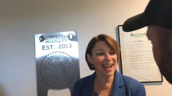 Click to watch: Amy Klobuchar on providing a path to citizenship in Charleston, SC