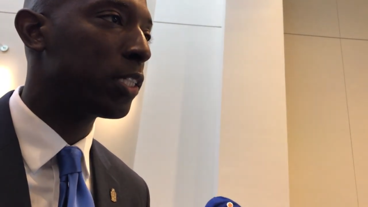 Click to watch: Wayne Messam on committing to lowering the incarceration rate by 50% in Columbia, SC