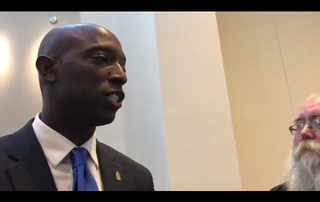 Click to watch: Wayne Messam on ending the use of ICE detainers in Columbia, SC
