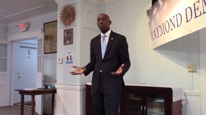 Click to watch: Wayne Messam discusses LGBTQ rights and adding a third gender marker in Raymond, NH