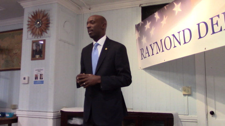 Click to watch: Wayne Messam on restoring voting rights for those currently incarcerated in Raymond, NH