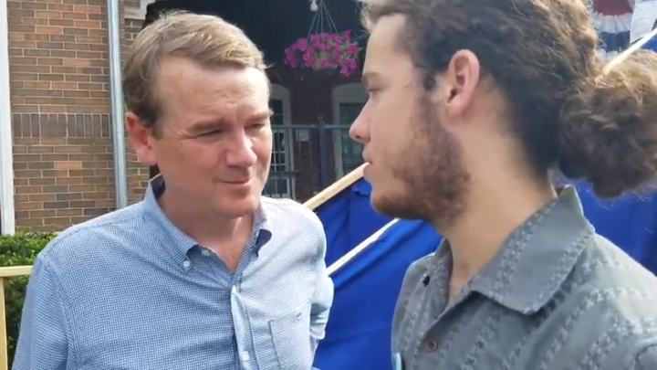 Click to watch: Michael Bennet on reducing immigrant detention in Des Moines, IA