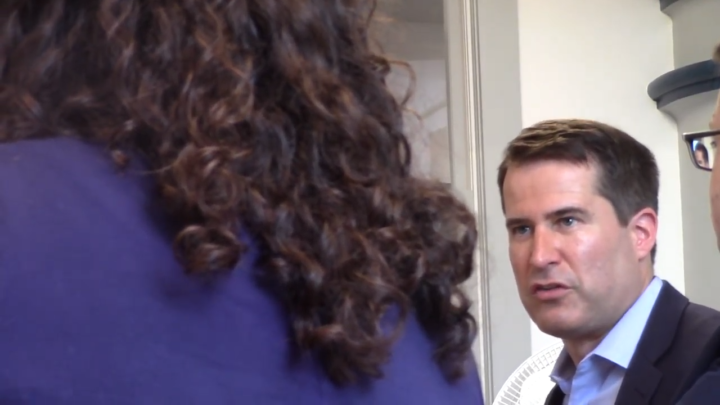 Click to watch: Seth Moulton on recognizing a third gender on state identification Nashua, NH