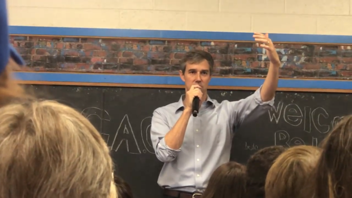Click to watch: Beto O'Rourke on ensuring voting rights for incarcerated citizens in Clinton, IA
