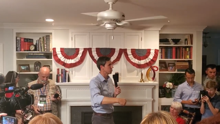 Click to watch: Beto O'Rourke on disentangling ICE from local law enforcement Ames, IA